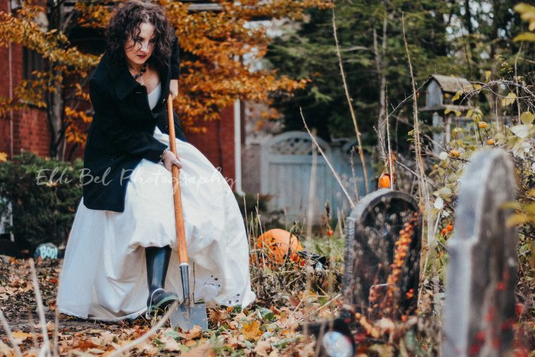 Halloween Trash the Dress