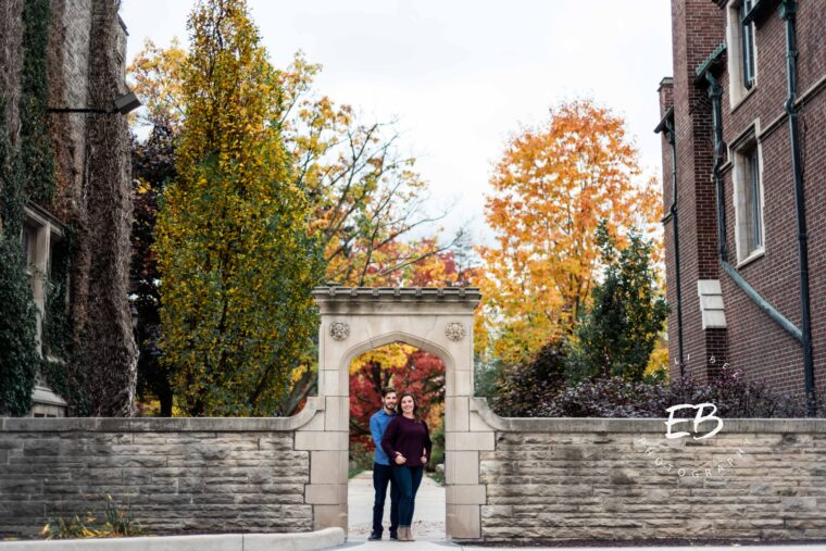 Carly and William Engagement, McMaster University