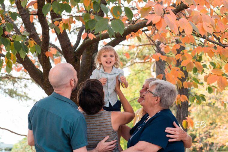UoG Arboretum Family Shoot