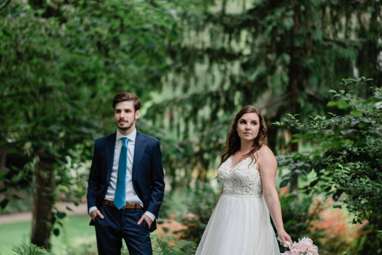Carly and William- Guelph Backyard Wedding