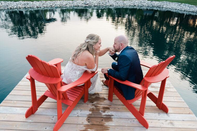 Sneak Peeks from Century Wedding Barn September 2021 Wedding