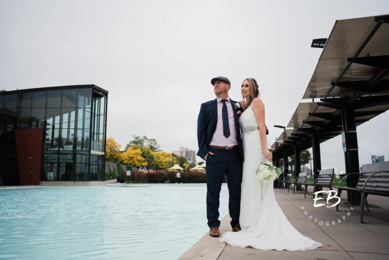 Erin and Ryan- Spencer's At The Waterfront Fall Elopement